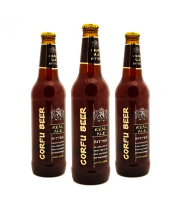 Corfu Beer 'Dark Ale' Bitter (500ml)